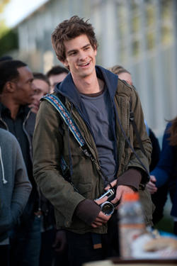 Andrew Garfield as Peter Parker in ``The Amazing Spider-Man.&#39;&#39;